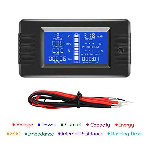 Fantastic Prices! LCD Display Digital Current Voltage Solar Po-wer Meter Multimeter Ammeter Voltmete...