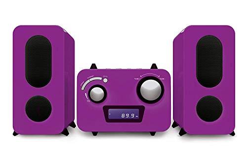 Kinder Stereo Music Center MCD11 USB und Fernbedienung -Lila