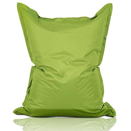Lumaland Luxury Riesensitzsack XL Sitzsack 270l Füllung 120 x 160 cm Indoor Outdoor Grün