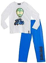 Fortnite Pijama Niño, Pijamas Niños con Diseño Battle Bus, Conjunto Niño Verano, Ropa Niño para Dormir, Regalos para Niños y Adolescentes Edad 7-14 Años (11-12 años)