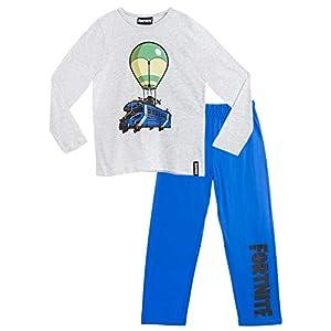 Fortnite Pijama Niño, Pijamas Niños con Diseño Battle Bus, Conjunto Niño Verano, Ropa Niño para Dormir, Regalos para…