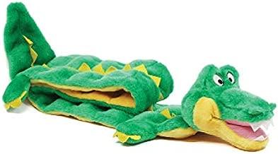 Outward Hound Squeaker Matz Plush Gator Dog Toy, XXL