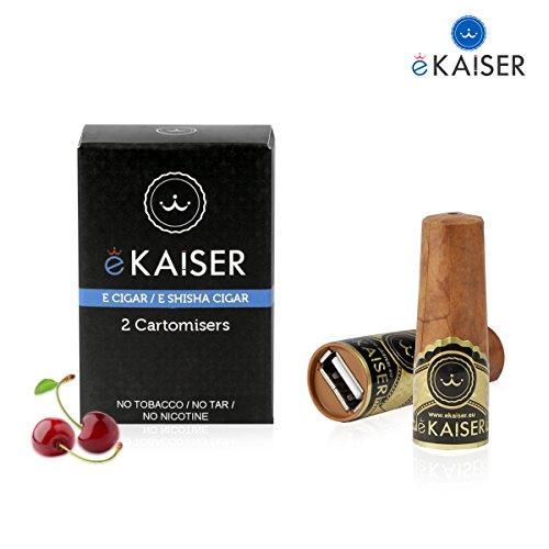 eKaiser Elektronische Zigarre 2er Pack Cartomizer,...