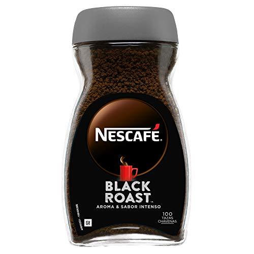 NESCAFÉ BLACK ROAST aroma y sabor intenso, café soluble, 100 % café,...
