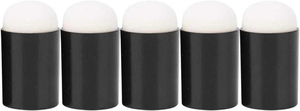 /Éponge Daubers 5 Pcs Flexible Doigt /Éponge Daubers Confortable Enfants Finger Peinture Outil En Plastique Pigment Scrawl Kit Adapt/é /à Lencre//Craie//Pigment 5 smear tools//bag