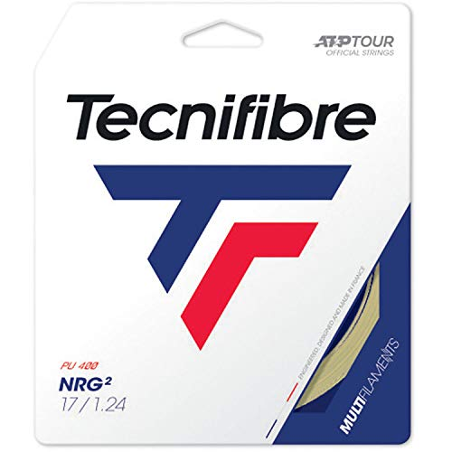 Price comparison product image Tecnifibre NRG2 16 (1.32) Natural Tennis String Pack - 40 feet