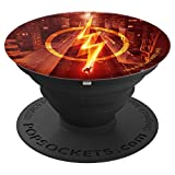 The Flash TV Series Lightning Streak PopSockets Grip and Stand for Phones and Tablets