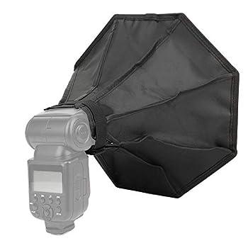 Bindpo Flash Softbox 30x30cm Folding Speedlight Softbox Diffuser Cover Universal for Canon for Nikon for Sony DSLR Camera