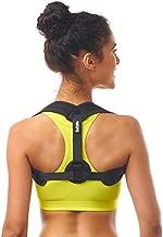 Posture Corrector for Women Men - Posture Brace - Adjustable Back Straightener - Discreet Back Brace for Upper Back - Comfortable Posture Trainer for Spinal Alignment (25