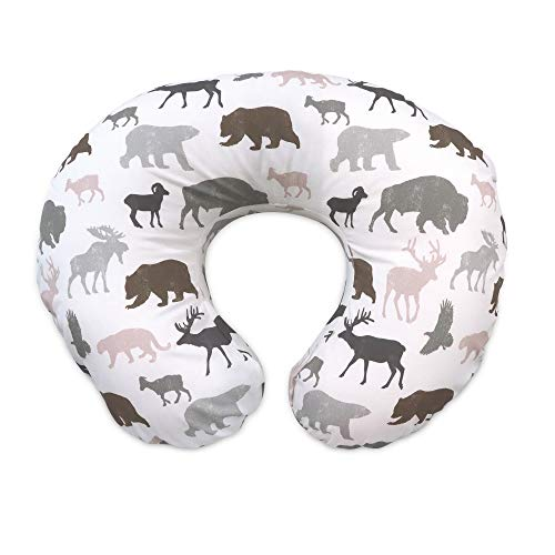 Boppy Original Nursing Pillow & Positioner, Neutral Wildlife