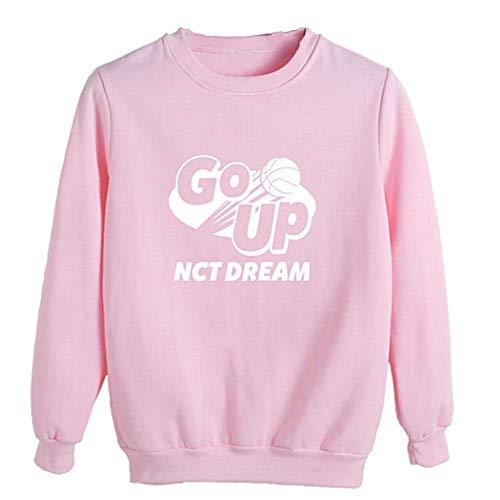 Charous KPOP NCT Dream We GO UP Sudadera de Moda para Mujeres Hombres Fans Outwear de Apoyo a Todo Color