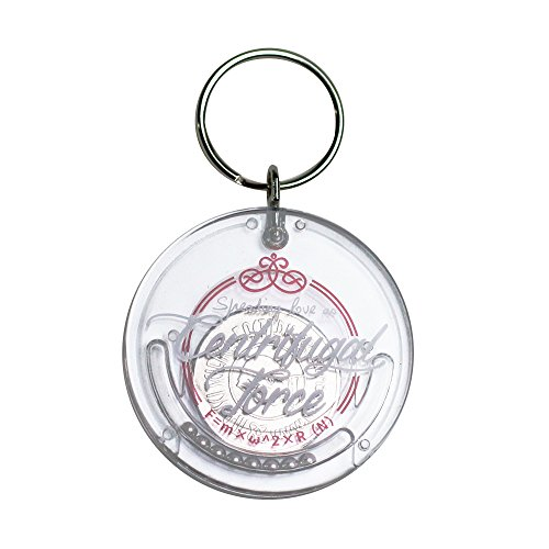 Mr. Sci Science Factory Centrifugal Force Keychain–Coin Trap (Pink)