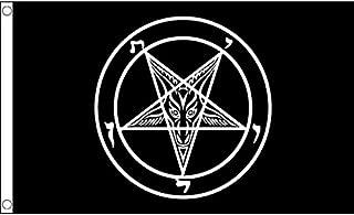 AZ FLAG Baphomet Church of Satan Flag 3' x 5' - Templar Order Flags 90 x 150 cm - Banner 3x5 ft
