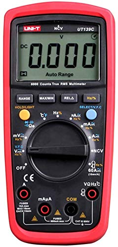 UNI-T UT139C True RMS Digitale Multimeter Digitales Universalmessgerät