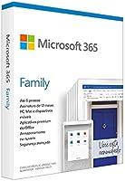 Microsoft 365 Family | Office 365 apps | 1TB na nuvem por usuário | até 6 usuários | assinatura anual