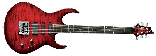 VGS Radioactive TD Special Pro Tommy Denander Signature mit Evertune System. Farbe: Kirschrot