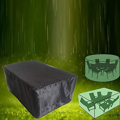 Beschermhoes voor meubels, waterdicht, stofbescherming, tafelbescherming, vierkant, tegen regen, voor tafel, bank, stoelen, meubels in de openlucht.