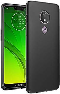 カバー の Motorola Moto G7 Power, Moonmini アクセサリー [スクラッチ耐性/パーフェクト 合う] Motorola Moto G7 Power シェル カバー 保護 皮膚 ケース ホルスター