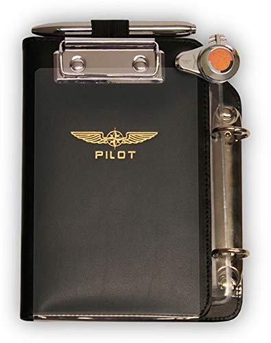 Design4Pilots - Cosciale   Pilot Kneeboard-Organizer  Piccolo Profi  A6, black