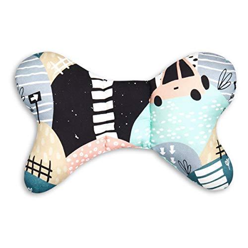 Fun with Mum But de PIL de Car de Car almohada cervical, diseño de mariposas multicolor