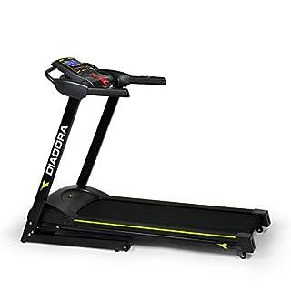 Diadora Fitness Edge Dark 2.4 Tapis Roulant, Motore 2 hp, Velocità 16 km/h (B00HF8CRPQ)   Amazon price tracker / tracking, Amazon price history charts, Amazon price watches, Amazon price drop alerts