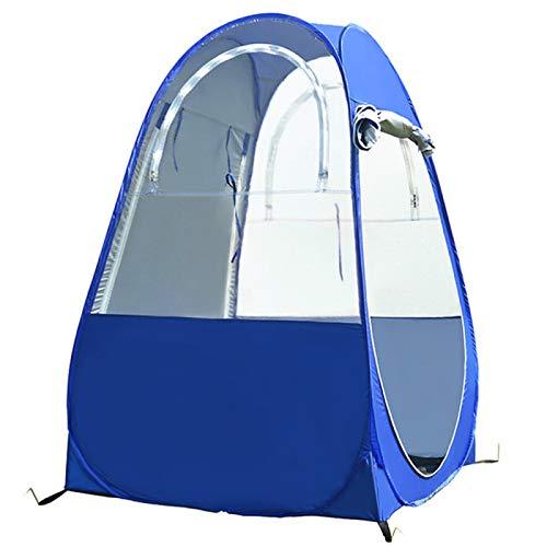 Tienda de campaña portátil impermeable para playa, clasificado Upf 50+ automático con doble ventanas Anti-UV Sun refugios para la familia Camping Pesca Picnic (100 x 100 x 160 cm)