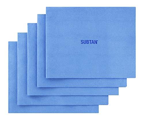 SUBTAN Reinigungstücher Premium für Smartphone, Tablet und Touchscreen - kompatibel mit iPhone, iPad, iPad Pro - 5er Pack - Original Qualität