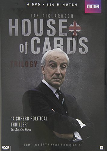 6 DVD House of Cards Trilogy - UNCUT - Ian Richardson - BBC (DUTCH IMPORT) by Ian Richardson