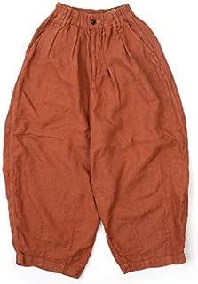 HARVESTY ハーベスティ LINEN CIRCUS PANTS リネンサーカスパンツ A11910 0,テラコッタ(48)