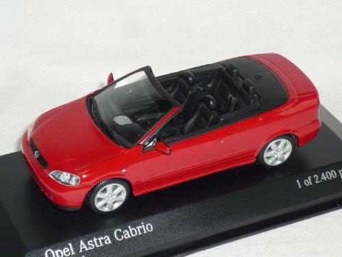 Minichamps Opel Astra G Cabrio 1998-2005 Rot 1/43 Modell Auto Modellauto