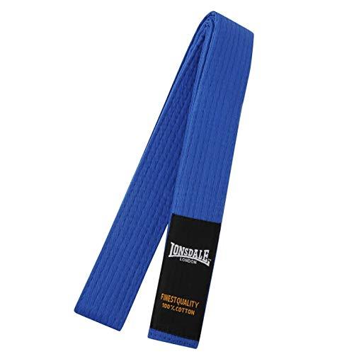 Lonsdale Cinturón de artes marciales para hombre, color azul