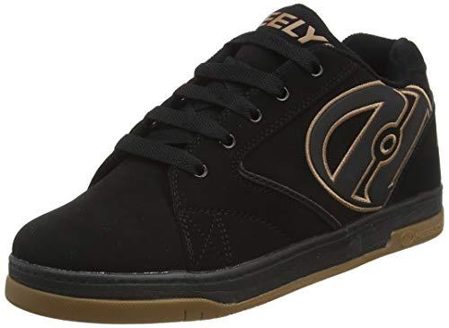 Heelys Jungen Propel 2.0 770255 Lauflernschuhe Sneakers, Black/Gum, 38 EU (5 UK)