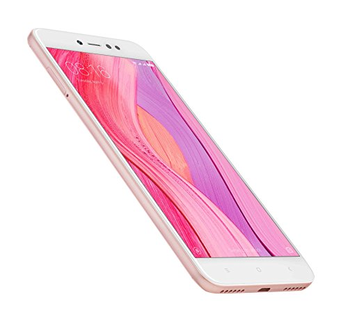 """Xiaomi Redmi Note 5A Prime - Smartphone libre de 5.5"""" (4G, WiFi, Bluetooth, Snapdragon 435, 32 GB de ROM ampliable, 3 GB RAM, cámara 13 Mp, Android MIUI, dual-SIM), oro rosa [versión española]"""