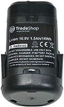Trade-Shop–Batería de ion de litio batería 10,8V/1500mAh para Dremel 8200MultiMax, 8220, 8300MultiMax sustituye Dremel 875, 26150875ja, 2607336867, B812–01, B812–02
