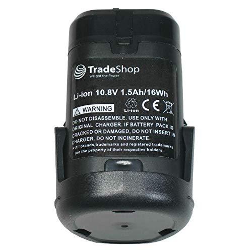 Trade-Shop - Batería de ion de litio de alto rendimiento para Dremel 8200 Multimax, 8220, 8300 Multimax (10,8 V, 1500 mAh)