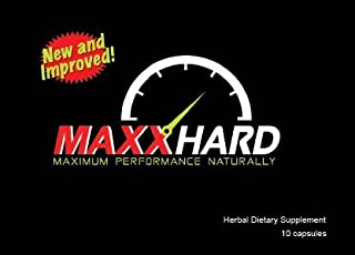 Top Rated Male Enhancement MAXXHARD #1 in USA Testosterone booster Increase Size, Girth, and last longer (10 Capsules) #1 in 20 countries