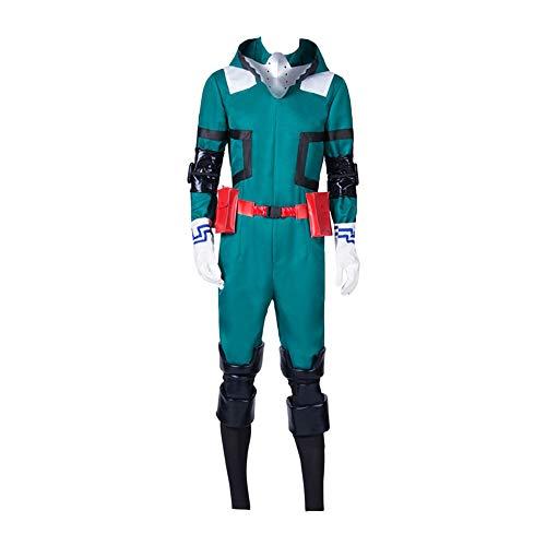 My Hero Academia Izuku Midoriya Deku Cosplay Disfraz YOH Asakura Fighting Suit Uniformes de Gimnasia Outfit.