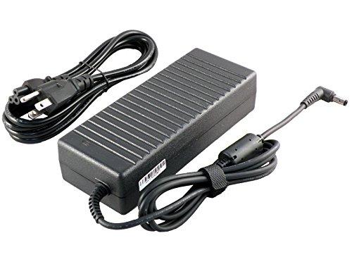 iTEKIRO 120W AC Adapter for EVOO Gaming Laptop 15.6' EG-LP4, EVOO EG-LP4-BK; CyberPowerPC A15-120P1A, Tracer III 15 15R Slim VR, Tracer IV 15 Slim SE, Tracer IV R 15 17 Slim Xtreme (5.5 mm Plug Tip)