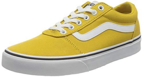 Vans Ward, Zapatillas Mujer, Canvas Ceylon Yellow/White, 38 EU