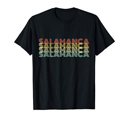 Salamanca Retro Inicio Vintage Ciudad Natal Camiseta
