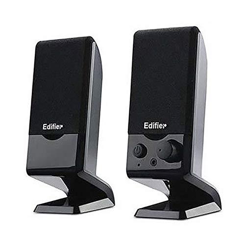 CHENTAOCS Mini Desktop Impact USB Laptop Speaker Kleine Stereo Thuis Overgewicht Subwoofer 2.0 Bedraad Actieve Speaker Mobiele Telefoon Universele Interface, Zwart