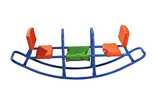 SLIDEWHIZZER Kids Teeter Totter Outdoor Seesaw: Play - Children, Boys, Girls, Kid, Youth Ride ON Toy Living Room, Lawn, Backyard, Playground Gifts, Party Ages 3 4 5 6 Rocking HIGH Chair