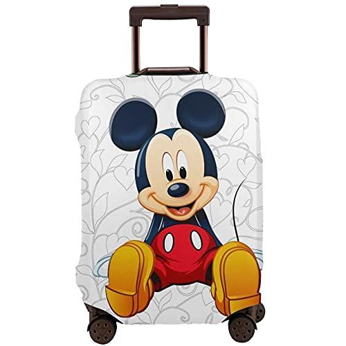 Mickey Cartoon Mouse Maleta de manga protectora con banda elástica y antiarañazos, las mangas elásticas gruesas son fáciles de limpiar, impresas con estilo y linda