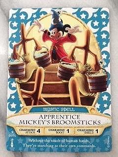 Sorcerers Mask of the Magic Kingdom Game, Walt Disney World - Card #01 - Apprentice Mickey's Broomsticks
