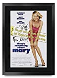 HWC Trading FR A3 - Póster impreso con texto en inglés 'There Something About Mary Cameron Diaz, Ben Stiller Gifts - Imagen para fans de la película