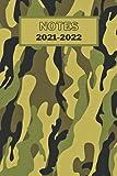 NOTES 2021-2022: Cahier de 120 pages lignées pour prise de notes. Militaire Journalier, Cahier de Texte et de Devoirs. Organiseur Scolaire pour Etudiant, Primaire, Collège et Lycée.