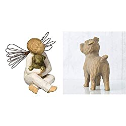 International products have separate terms, are sold from abroad and may differ from local products, including fit, age ratings, and language of product, labeling or instructions. Willow Tree collection by Susan Lordi Hand-made and hand-painted using...