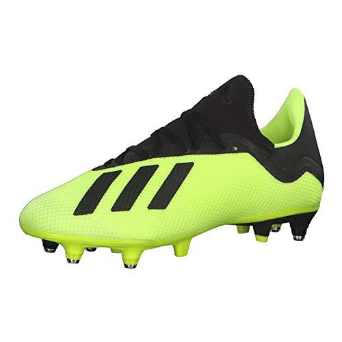 adidas Herren X 18.3 SG Fußballschuhe, Gelb (Amasol/Negbás/Ftwbla 001), 43 1/3 EU