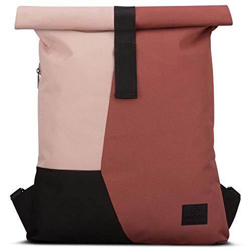 Backpack Roll Top Red/Pink - JOHNNY URBAN'Oskar' Gym Bag Women & Men...