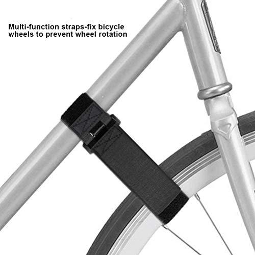 Emowpe Cinturón Tensor de Bicicleta Cinturón elástico para Equipaje Cuerdas tensoras Portaequipajes...